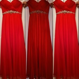 ANNY LEE QUINCEAÑERA RED DRESS